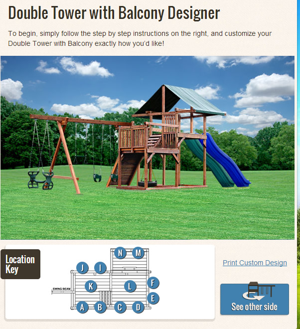 Design your own swing set a family friendly process for Design your own playground online