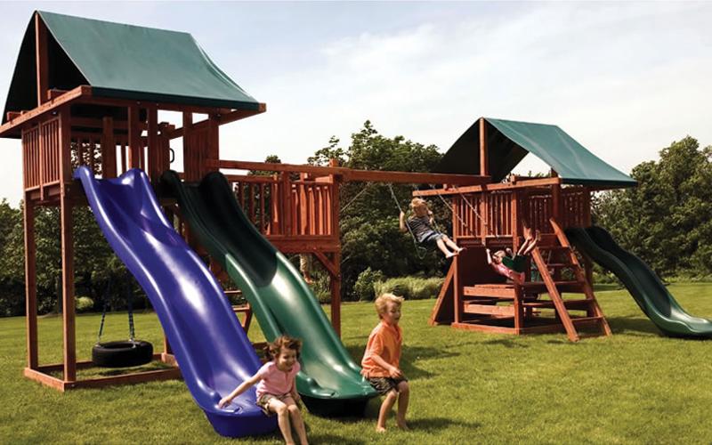 backyard playground sets
