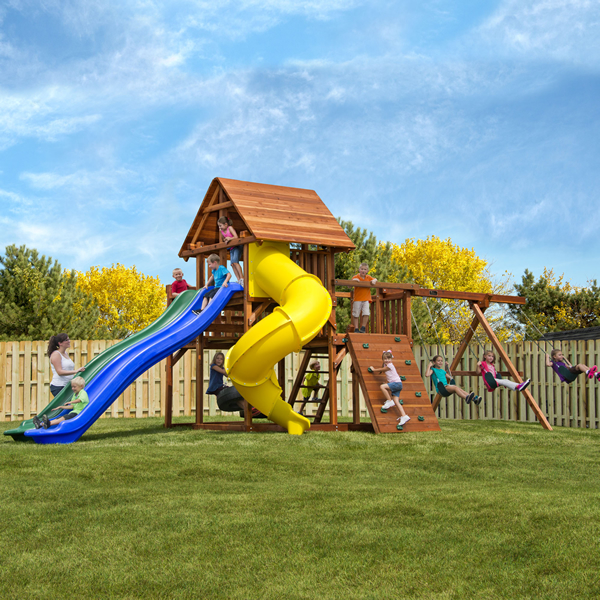 exercise on play sets