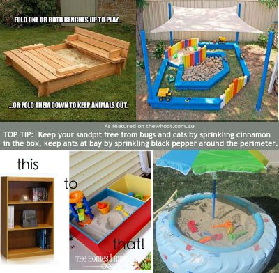 DIY Sandboxes Designed to Inspire without Breaking the Bank