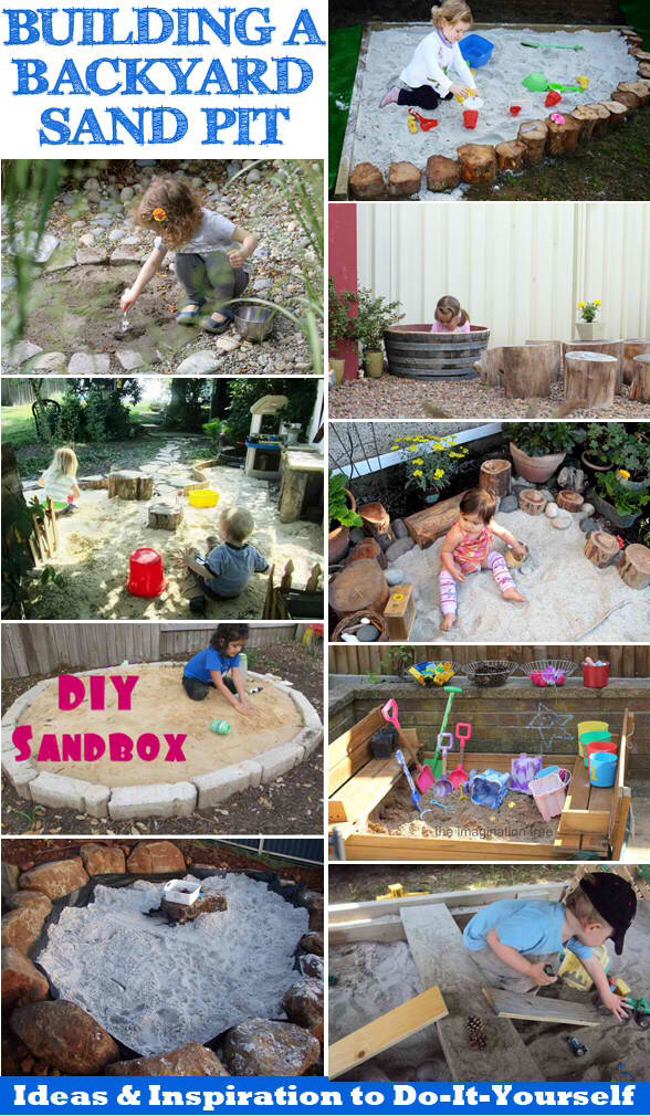 diy sandboxes for kids sandbox design ideas - Sandbox Design Ideas