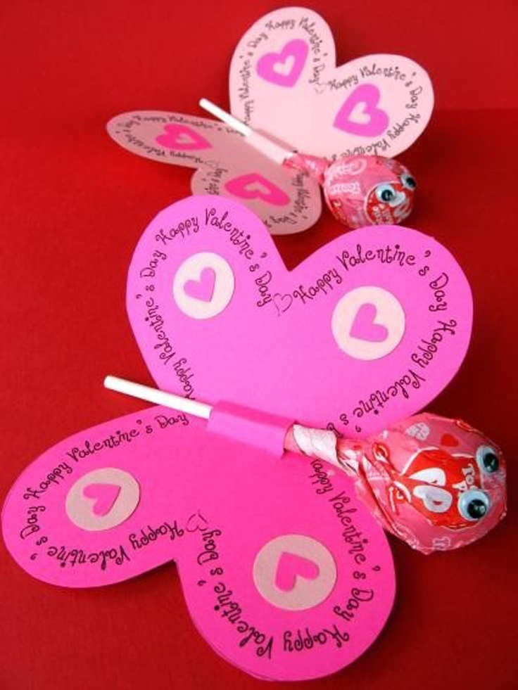 valentines decorate ideas tootsie roll pop