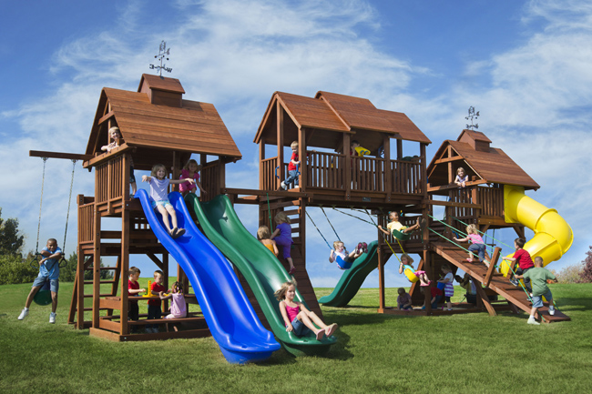 large playground set