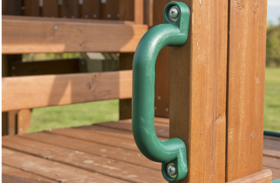 The safety handles come with all mounting hardware & have a 3 year warranty against damage.