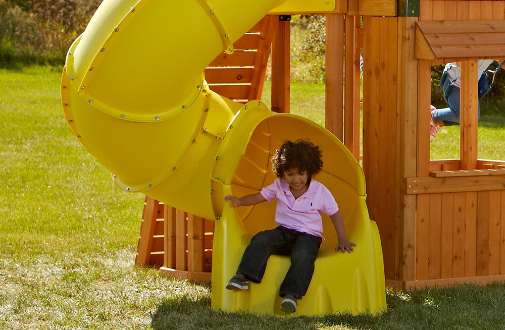 Yellow 5ft. Tube Slide