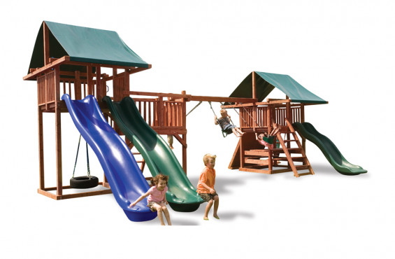 The Midway play set is also safe and comfortable for kids with all accessories and components meeting or exceeding ASTM safety standards.