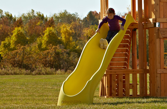 Yellow Super Speedwave 10ft. Slide