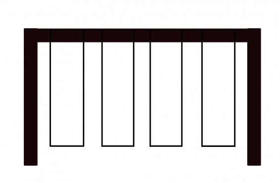 4 Position Swing Beam