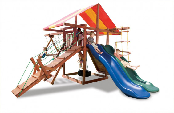 Our swings come with safety features like UV protection and plastisol coating for pinch free grip. They also meet and/or exceed ASTM safety standards.