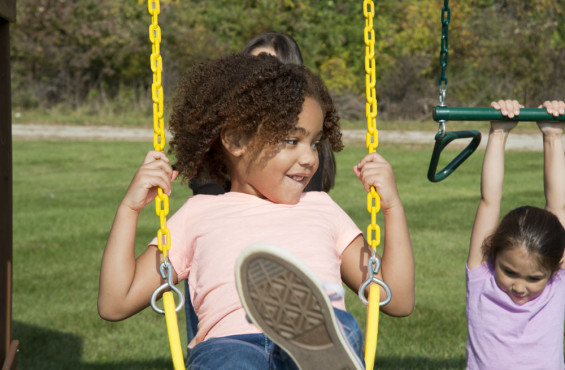 Enjoy a 3 yr warranty on our swings.