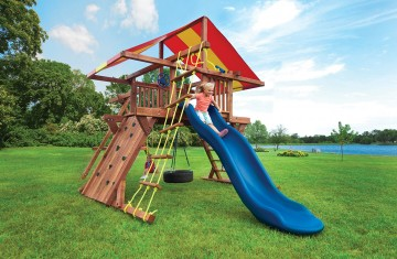 Kids swing sets for summertime fun