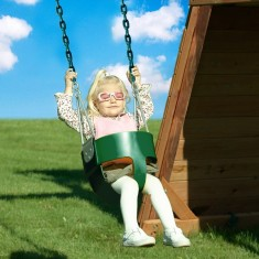 Baby swing seat makes sure toddlers are part of the fun!