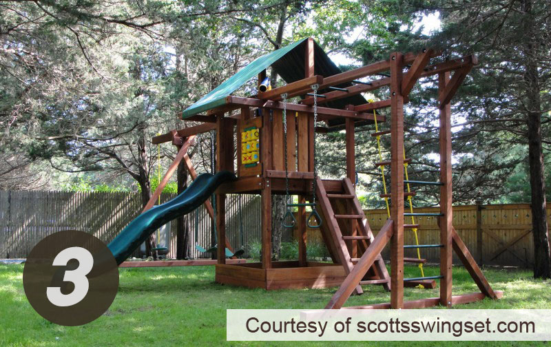 Swing Set Installation Services Kids Creations