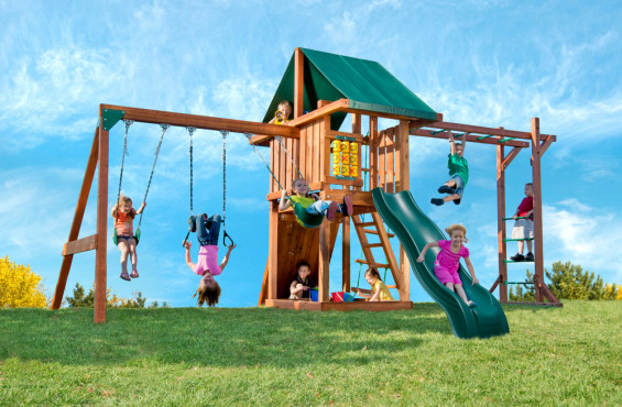 If you want to give your children a good mix of action-packed and imaginative activities at an affordable price, the Circus playset with monkey bars is right choice.