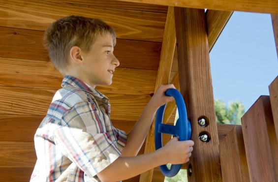 Customize your play set with our steering wheel accessory, made from durable polyethylene that meets/exceeds ASTM safety requirements.