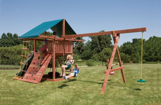 The Three Ring Adventure play set has 11 accessories to keep kids entertained.