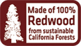 design redwood swing sets