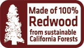 redwood swing sets