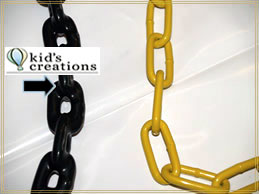 safe swing chains