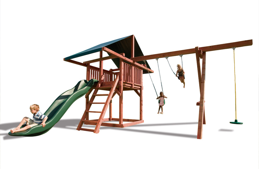 Premier Redwood Playsets Built For The Ultimate Adventure Kids