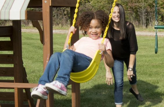 All our swings meet/exceed all ASTM safety standards.