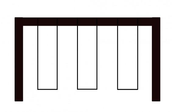 3 Position Swing Beam