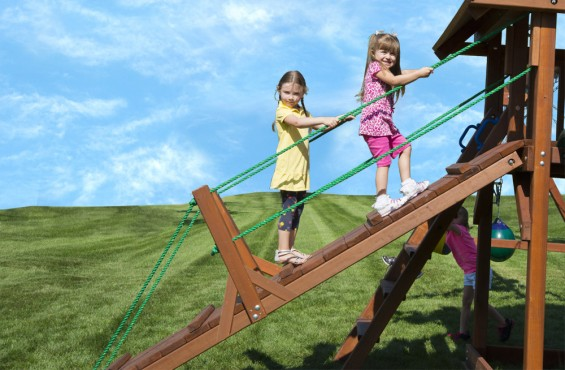 Drawbridge will inspire children's imagine entering a grand pirate ship.