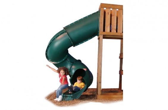 Green 7ft. Tube Slide