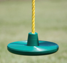 Kids disc rope swing