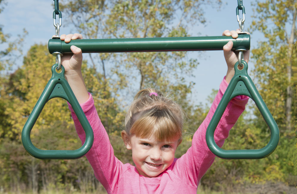 Trapeze Bar With Rings For Kids Swing Sets Trapeze Bar Kids