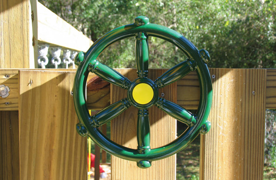 Pirate's Ship Steering Wheel