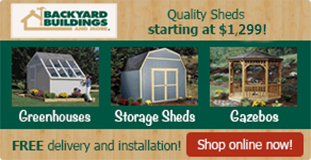 Backyard Buildings and More Storage Sheds