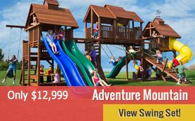 Adventure Mountain Swing Set