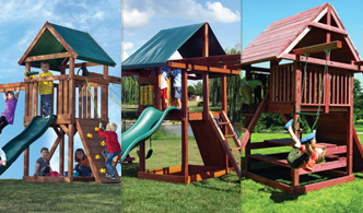 View Kids Creations Swingset Comparision
