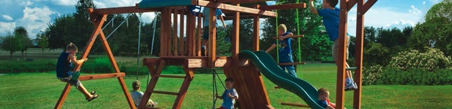 Kids Creations Professional Swing Set Installation