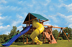 Single Tower Swing Sets
