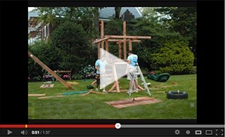 Kids Creations Two Ring Adventure Swing set Install video