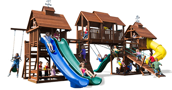 Adventure Mountain Swingset By Kidu0027s Creations